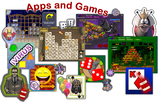 mobile apps and games